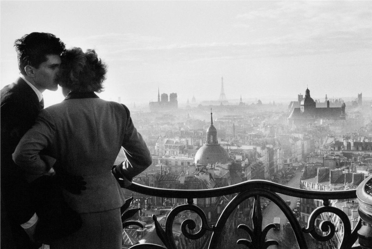 Gli innamorati della bastiglia 1957 Willy Ronis