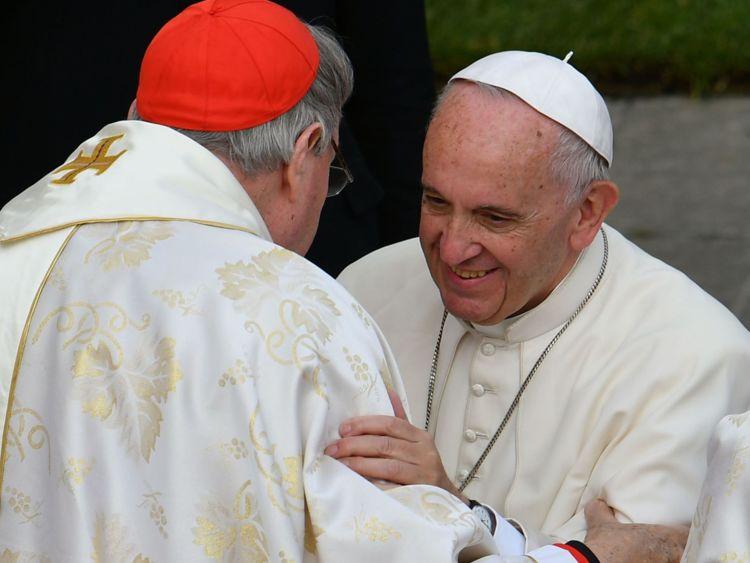 Pell e Papa Bergoglio