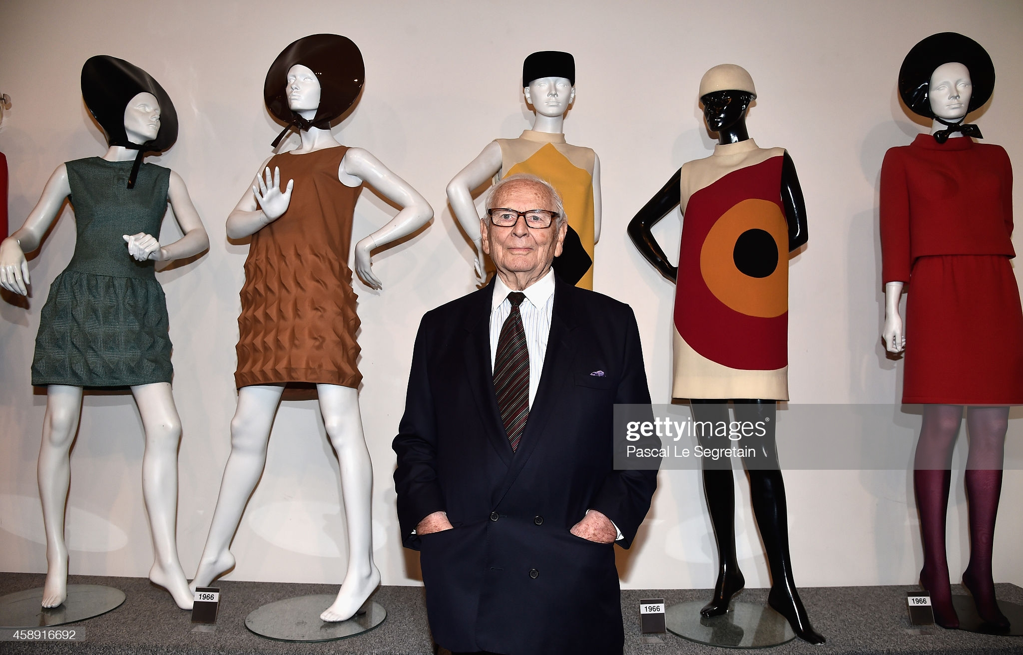 Pierre Cardin attends an Opening Cocktail at Musee Pierre Cardin on November 13, 2014 in Paris, France.  (Photo by Pascal Le Segretain/Getty Images)