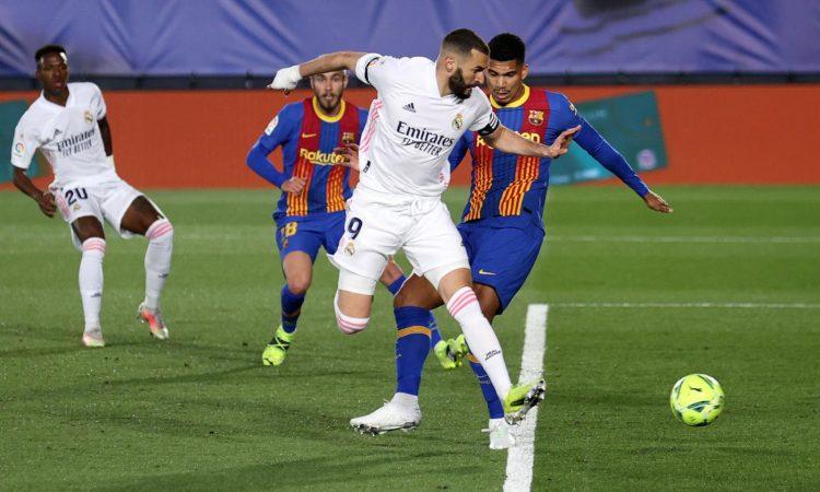 Real Madrid batte Barcellona