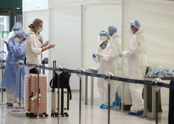 Tamponi covid in aeroporto